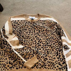 Leopard current Elliot sweater